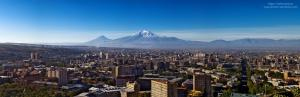 Yerevan and Mount Ararat